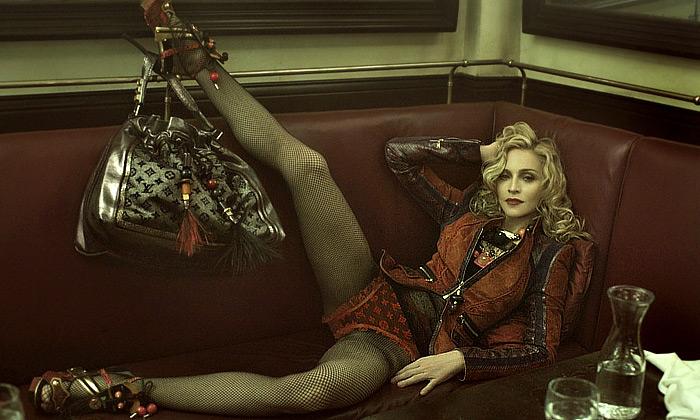 Madonna nafotila módní kolekci pro Louis Vuitton