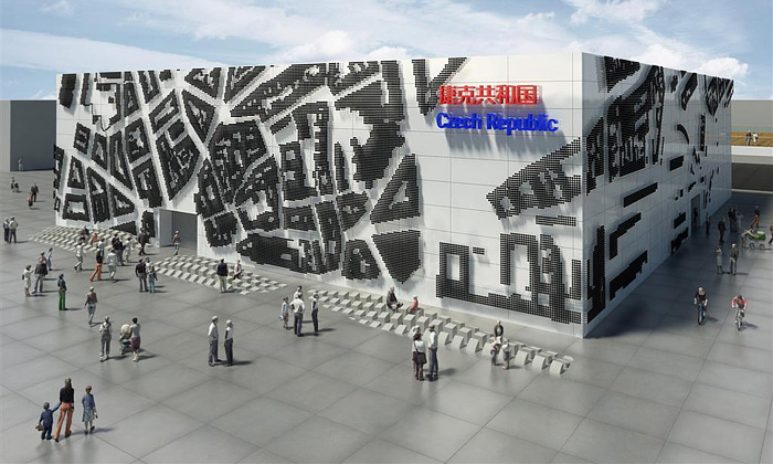 Český pavilon naExpo 2010 bude mít fasádu zpuků
