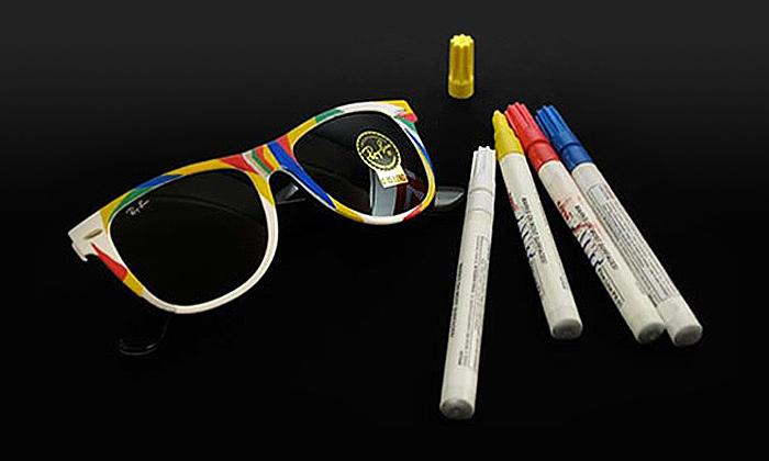 Colorize Kit umí vybarvit brýle Ray Ban Wayfarer