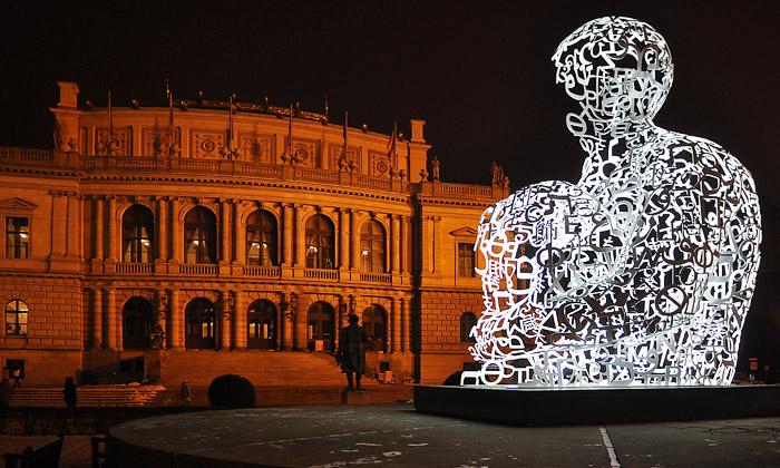 Prahu rozzářil svátek světel Transparency 2009