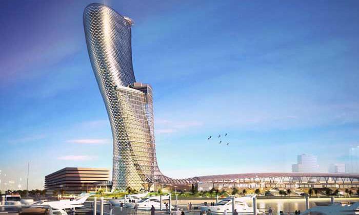 Staví senejšikmější věž světa jménem Capital Gate