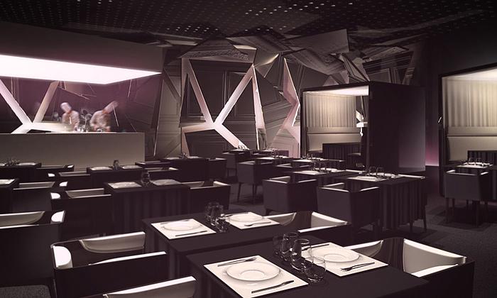 FRST studio navrhli koncertní restaurant Boom Food