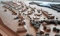 Konopiště Resort - Dřevěný model resortu v pohledu od města Benešov