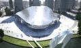 Plánované mezinárodní konferenční centrum Dalian vČíně odCoop Himmelblau