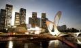 Plánované mezinárodní konferenční centrum Dalian v Číně od Coop Himmelblau
