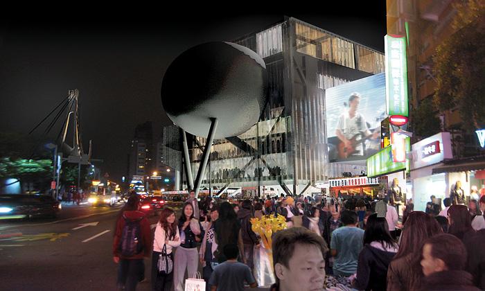 OMA postaví Tchaj-peji kosmické divadelní centrum