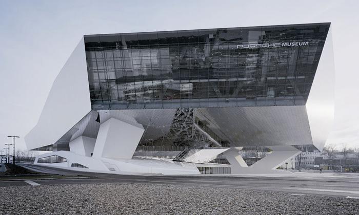 Německo otevírá Porsche Museum odDelugan Meissl