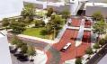 Revitalizace prostoru Riegrova náměstí na vizualizaci