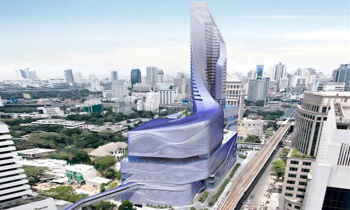 Amanda Levete navrhla Thajsku britskou ambasádu