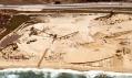 Původní těžba v dolu pro výstavbu Monterey Bay Shores