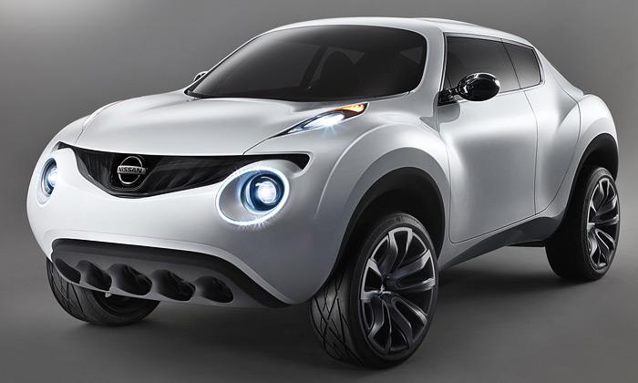 Nissan Qazana jeorganický crossover budoucnosti