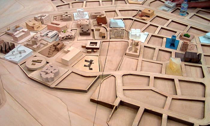 Architektonický projekt stovky vily ordos 100 v číně od sta