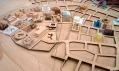 Architektonický projekt stovky vily Ordos 100 vČíně odsta architektů