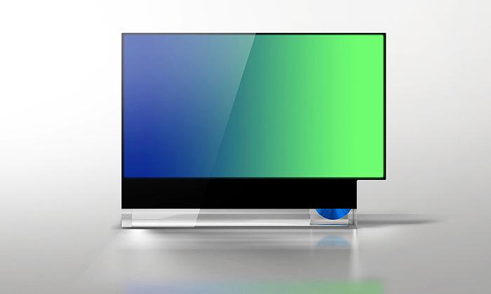 FRST studio navrhlo televizi 16943 pro dva formáty