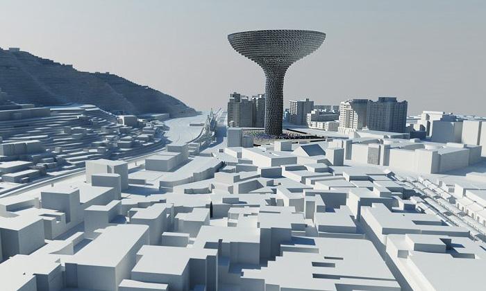 Visiondivision navrhli pro Tchaj-pej divadlo Tornado