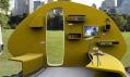 Vějířovitě rozkládací malý obytný dům 252° Living area