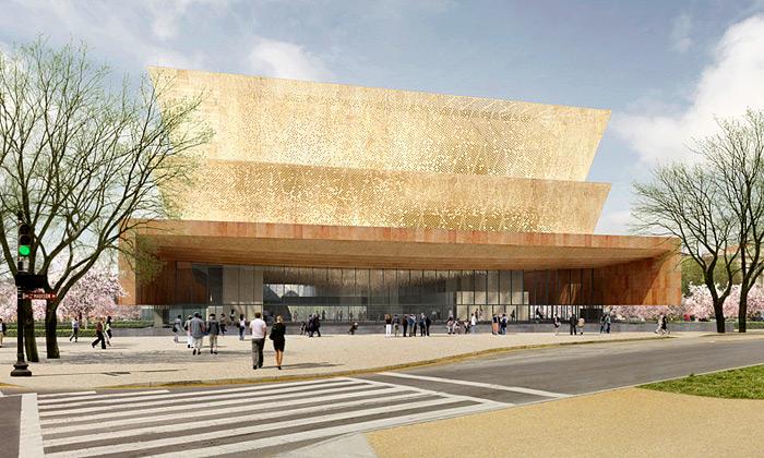 USA postaví zlaté Muzeum africké americké historie