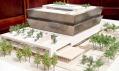 Model stavby Národního muzea africké americké historie a kultury