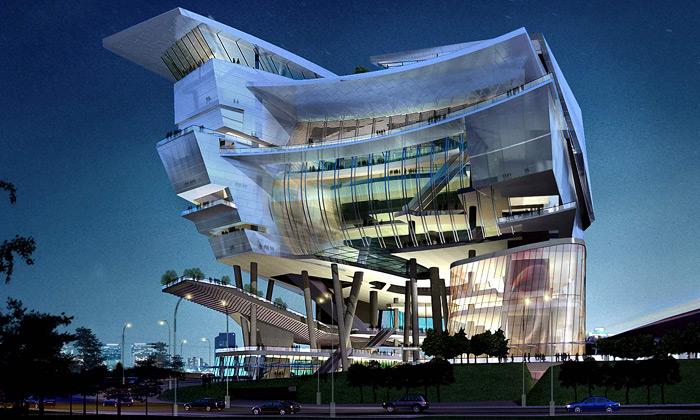 Singapur staví kulturní fantasy centrum odAedas