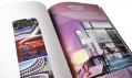Pohled do nemalé knihy The Design Hotels pro rok 2009