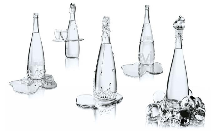 Jean Paul Gaultier navrhl luxusní lahve pro Evian