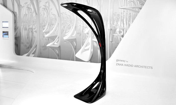 Zaha Hadid navrhla pro Artemide lampu Genesy