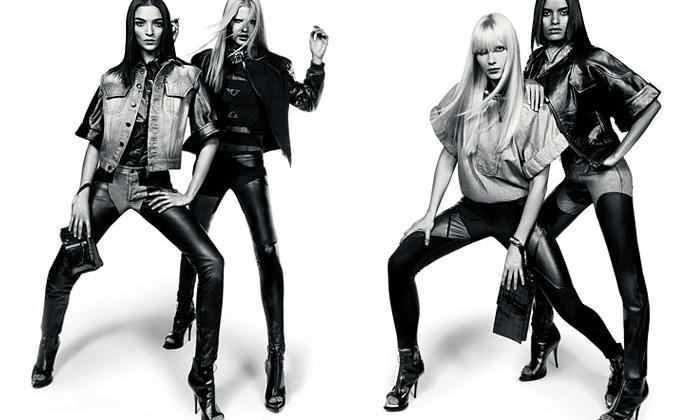 Módní značka Givenchy se v Praze uvedla kolekcí jaro a léto 2009