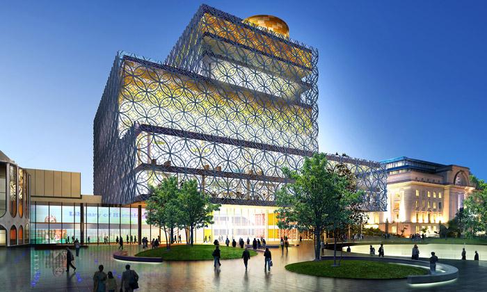Birmingham představil novou knihovnu odMecanoo