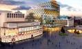 Čerstvě odhalený návrh knihovny pro britský Birmingham od Mecanoo