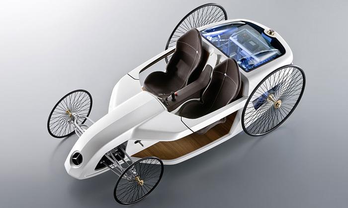 Mercedes sevrací včase konceptem F-Cell Roadster