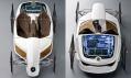 Studie vozu F-Cell Roadster od automobily Mercedes-Benz