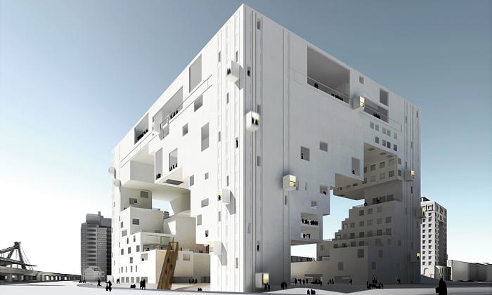 Divadlo jako stůl navrhli NL Architects pro Tchaj-pej
