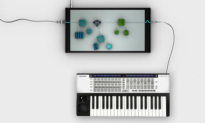 Navržen multidotykový syntetizátor Poly Touch