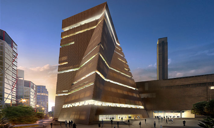 Londýnská galerie Tate Modern sezačíná rozšiřovat