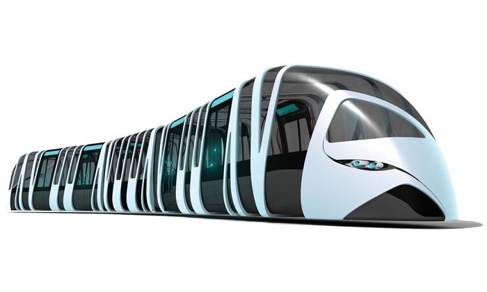 Navržena stylová tramvaj Tramspiral pro Alstom