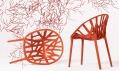 Nová židle Vegetal značky Vitra oddesignérů Ronan aErwan Bouroullec