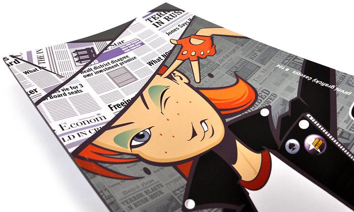 Nově vydaný časopis Font sevěnuje designu novin
