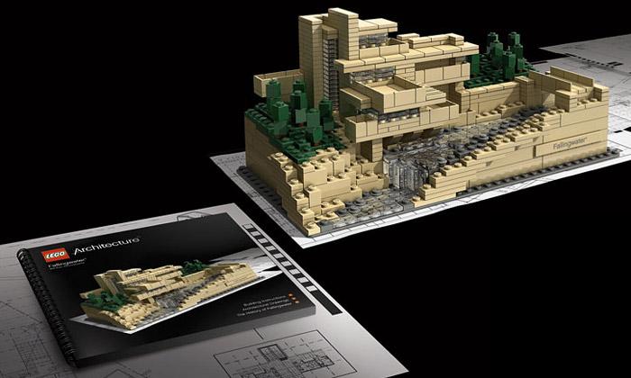 Lego rozšiřuje edice oFrank Lloyd Wright Collection