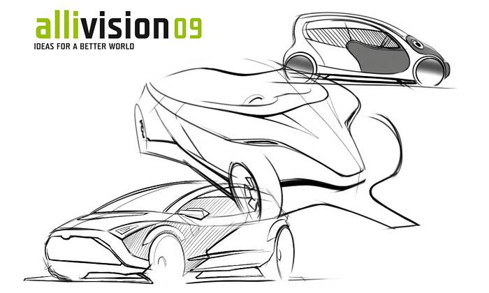 Vyhlášena soutěž Allivision 09 naauto budoucnosti