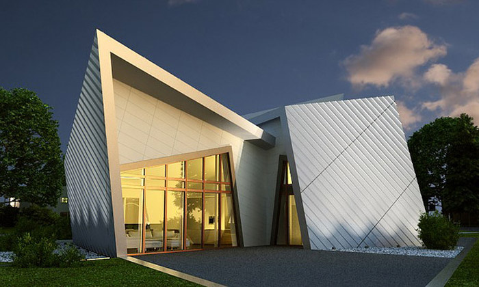 Daniel Libeskind uvádí luxusní prefabrikované domy