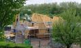 Průběh výstavby první ukázkové vily