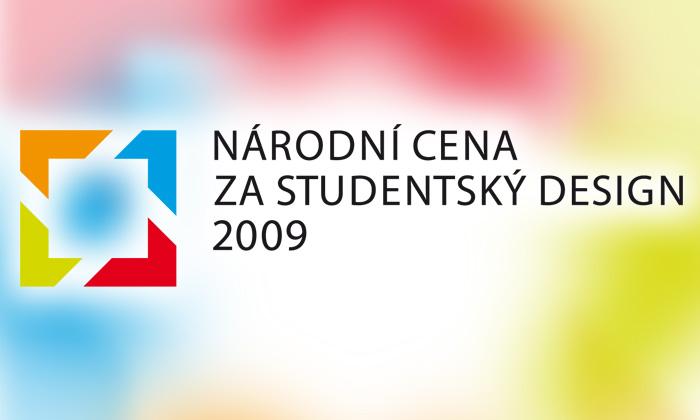 Vyhlašuje seNárodní cena za studentský design 09