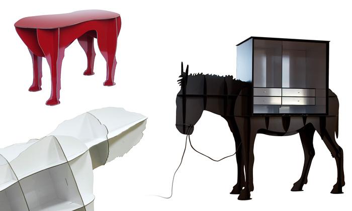 Ibride rozšiřuje svoji kolekci zvířecího nábytku