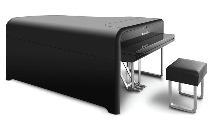 Audi navrhlo sBösendorfer luxusní moderní piáno
