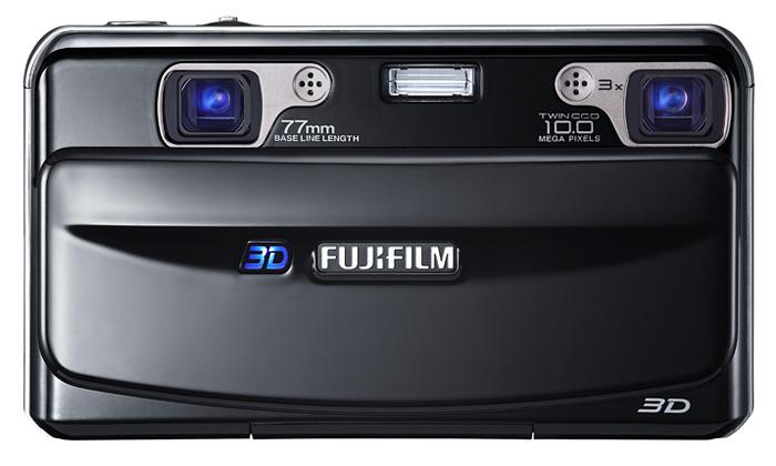 Fujifilm uvádí první 3D fotoaparát FinePix REAL 3D
