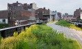 Park a promenáda High Line na Manhattanu