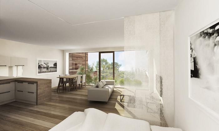 Konopiště resort odhalilo luxusní interiéry domů