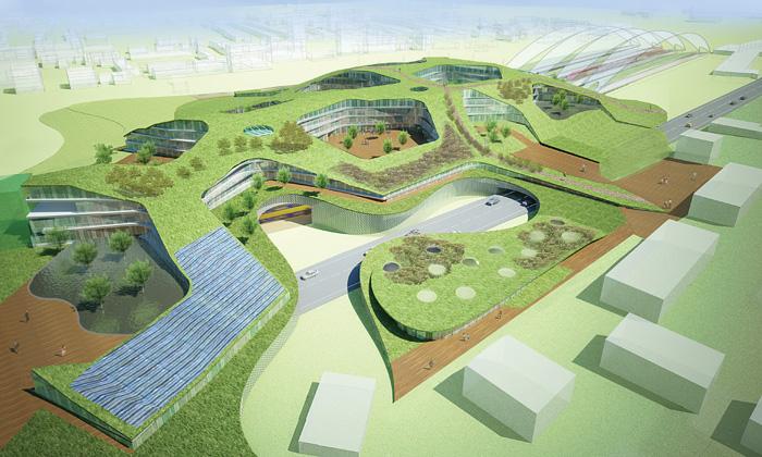 Plánují sesuper ekologické kanceláře Green Office