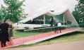 Pavilon Serpentine Gallery od Oscara Niemeyera z roku 2003