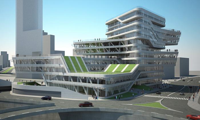 Zaha Hadid zahájila výstavbu točité Spiral Tower